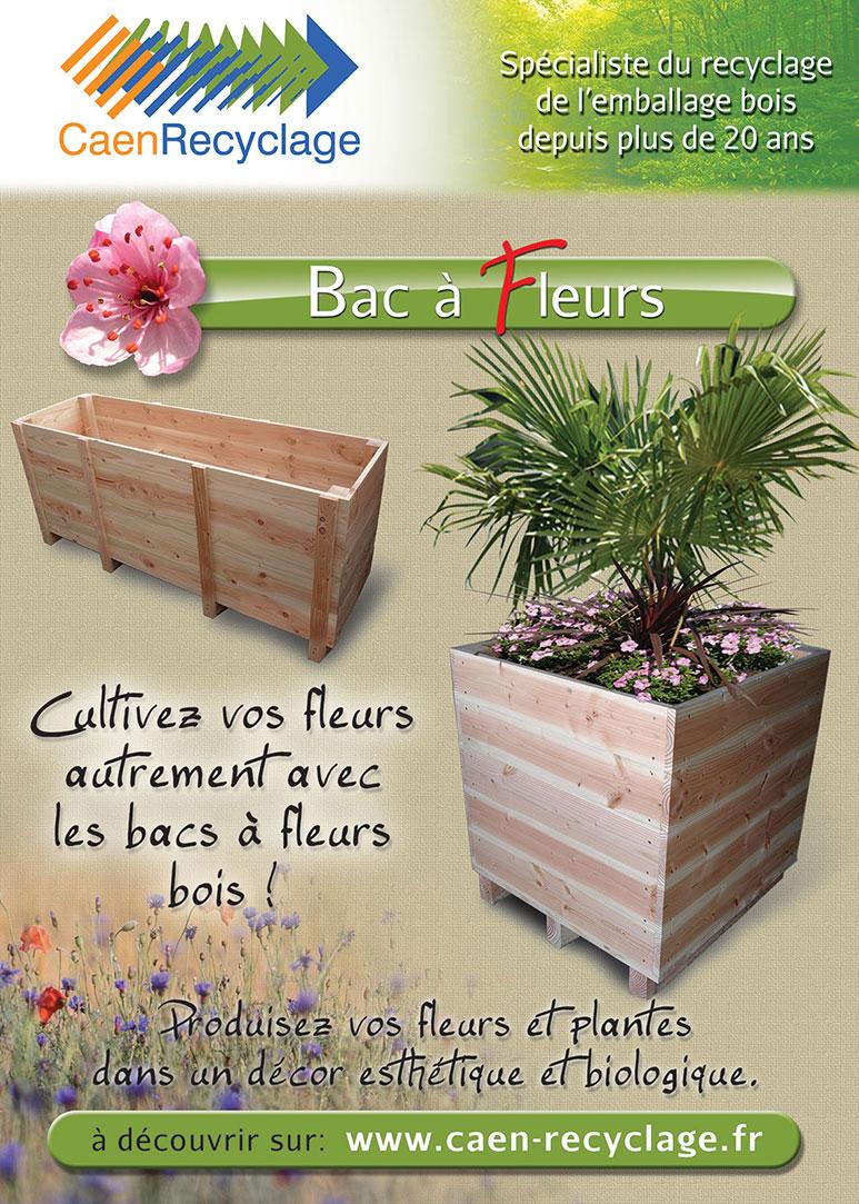 Caen Recyclage Produits Jardins Bois Bacs A Fleurs Bois